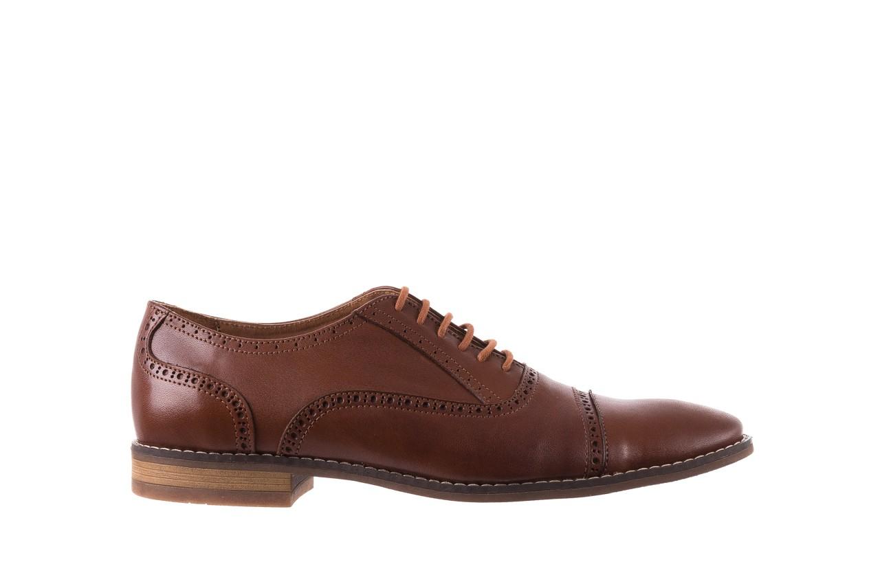 Półbuty bayla-166 m523bb brąz 166001, skóra naturalna - obuwie wizytowe - buty męskie - mężczyzna 8