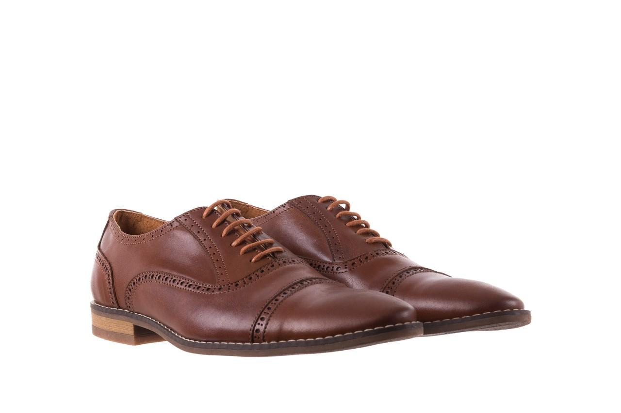 Półbuty bayla-166 m523bb brąz 166001, skóra naturalna - obuwie wizytowe - buty męskie - mężczyzna 9