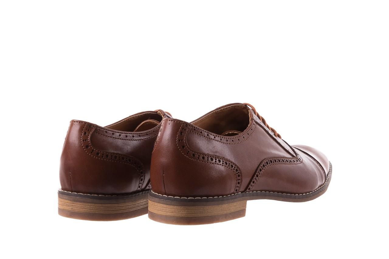 Półbuty bayla-166 m523bb brąz 166001, skóra naturalna - obuwie wizytowe - buty męskie - mężczyzna 11