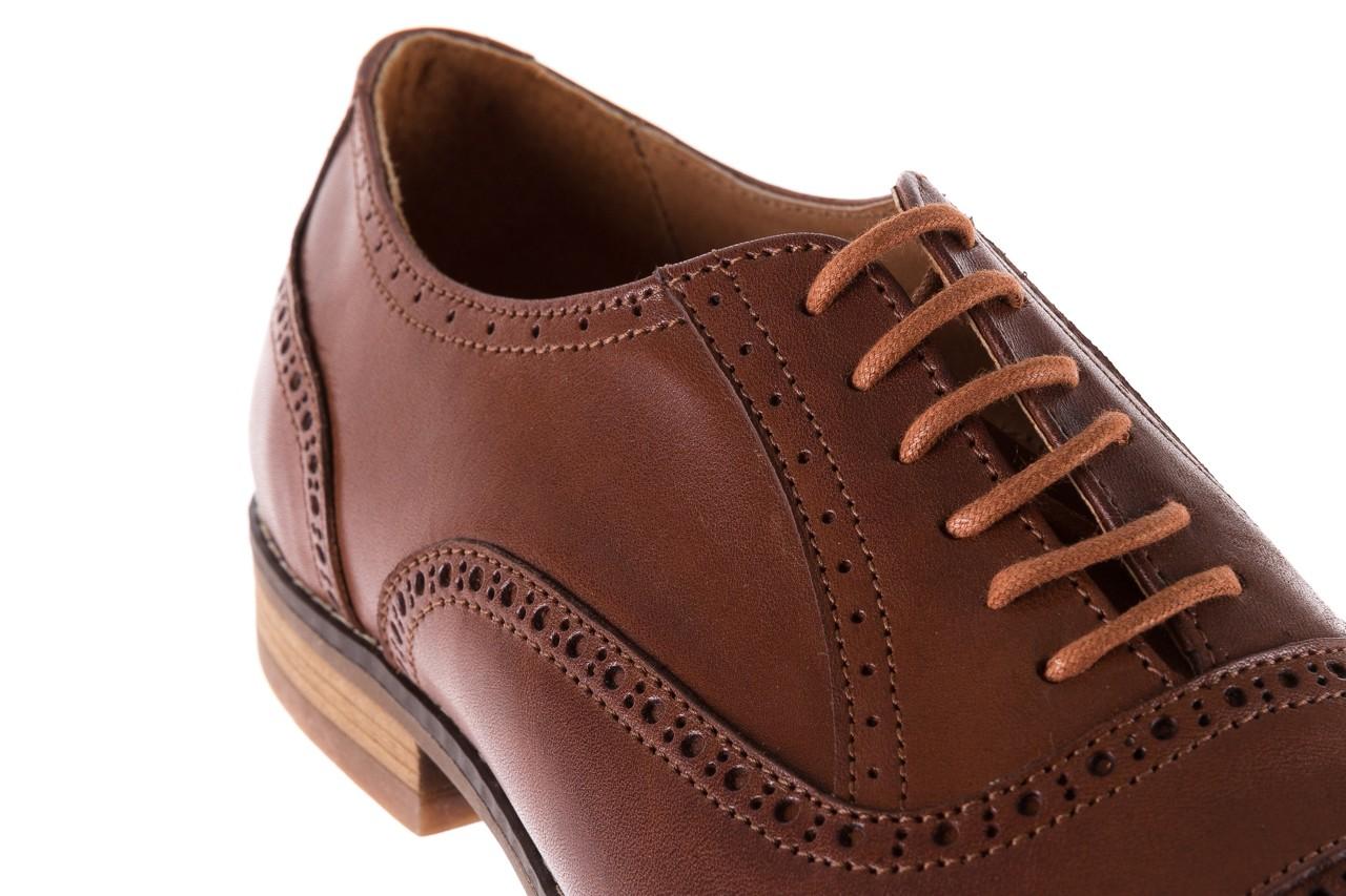 Półbuty bayla-166 m523bb brąz 166001, skóra naturalna - obuwie wizytowe - buty męskie - mężczyzna 14