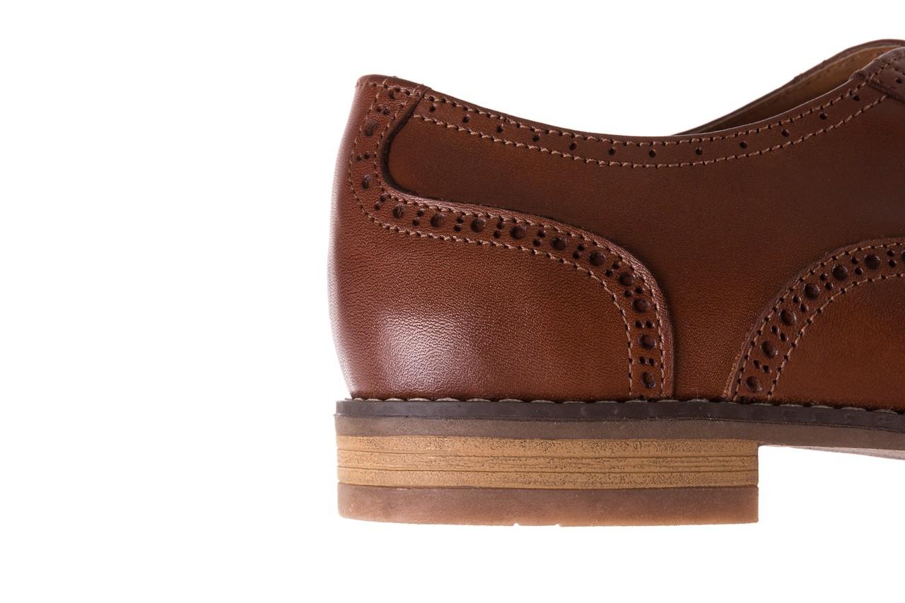 Półbuty bayla-166 m523bb brąz 166001, skóra naturalna - obuwie wizytowe - buty męskie - mężczyzna 15