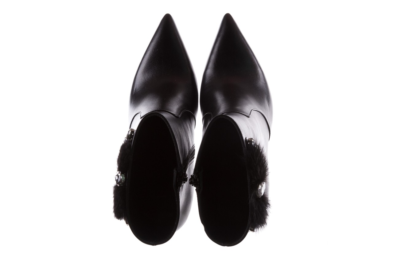 Botki bayla-177 b19715 czarne botki, skóra naturalna  - bayla - nasze marki 12