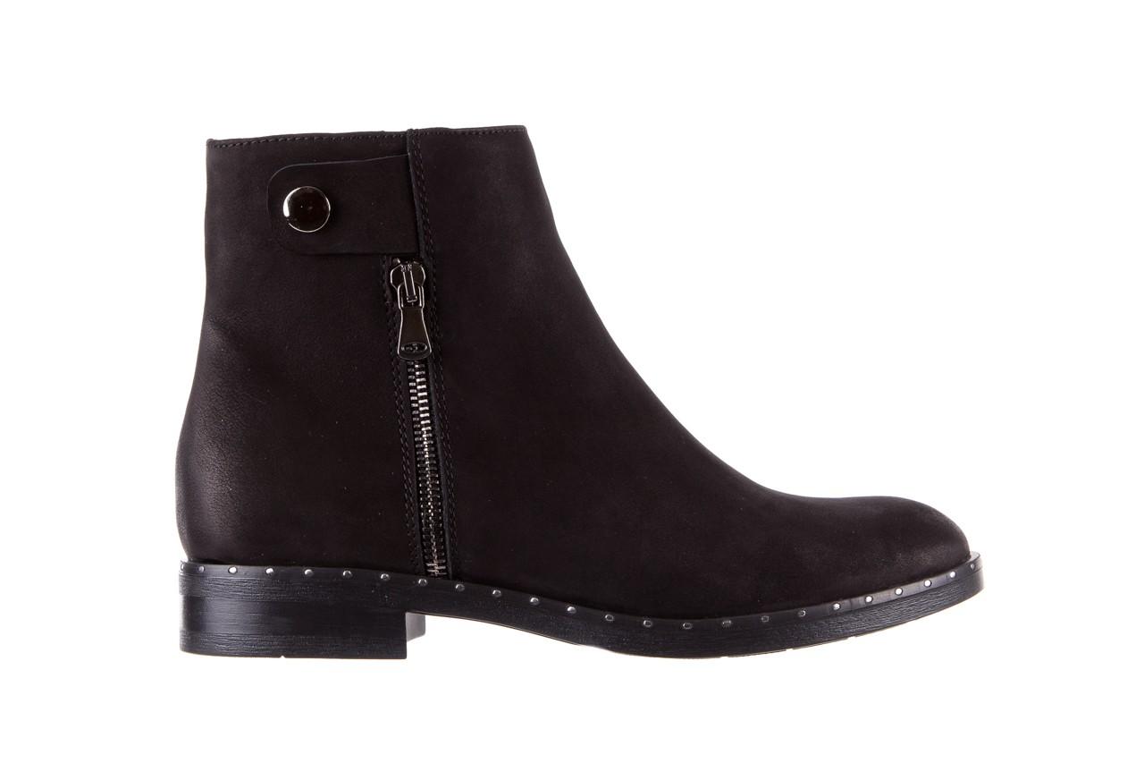 Sztyblety bayla-170 2170 czarne botki, skóra naturalna  - sztyblety - botki - buty damskie - kobieta 8