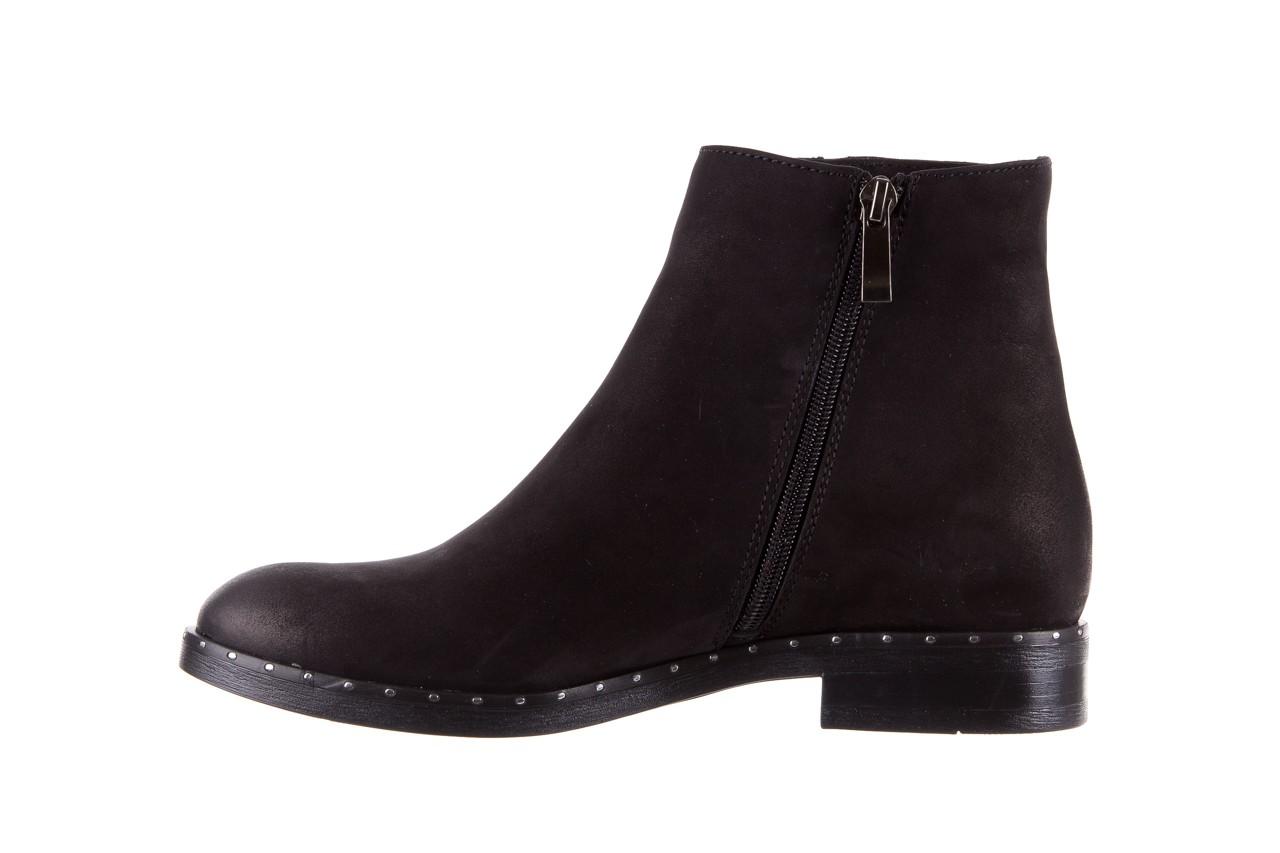 Sztyblety bayla-170 2170 czarne botki, skóra naturalna  - sztyblety - botki - buty damskie - kobieta 10