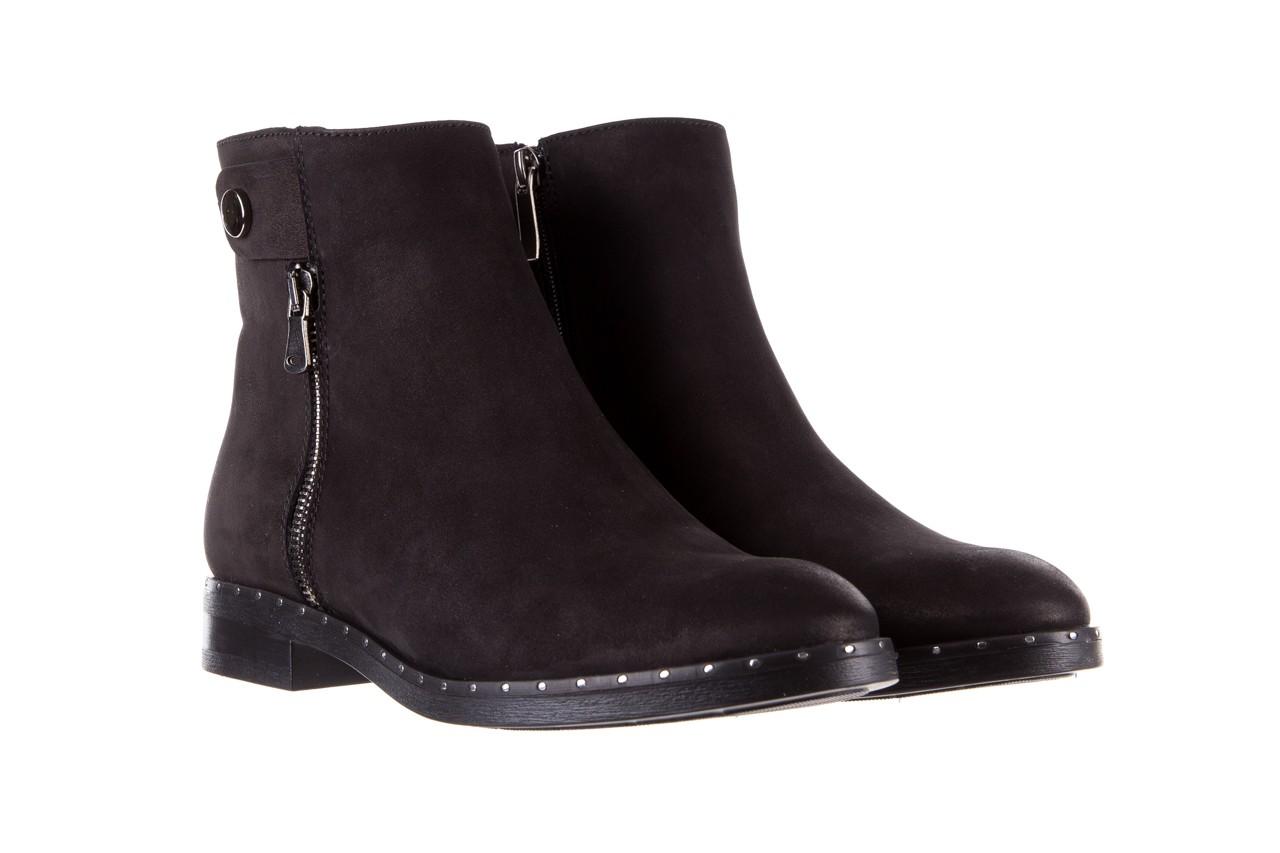 Sztyblety bayla-170 2170 czarne botki, skóra naturalna  - sztyblety - botki - buty damskie - kobieta 9