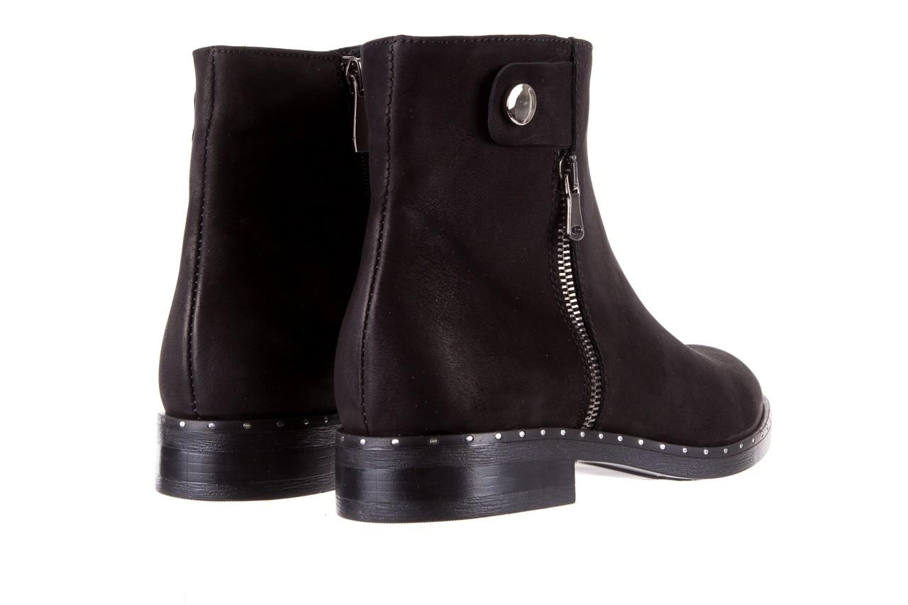 Sztyblety bayla-170 2170 czarne botki, skóra naturalna  - sztyblety - botki - buty damskie - kobieta 11
