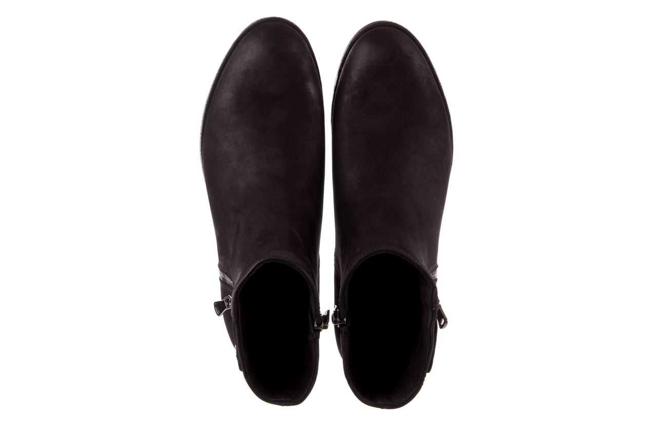 Sztyblety bayla-170 2170 czarne botki, skóra naturalna  - sztyblety - botki - buty damskie - kobieta 12