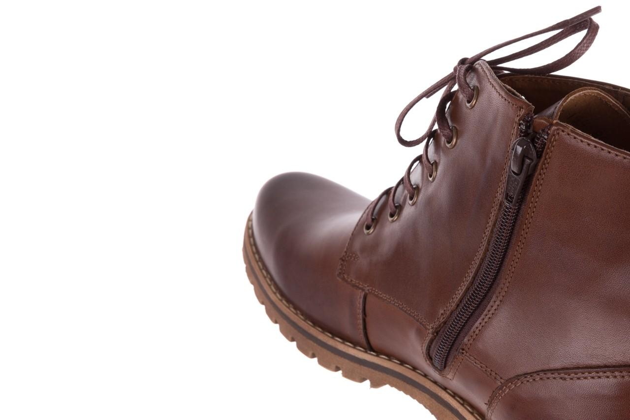 Trzewiki bayla-081 867 brązowe trzewiki, skóra naturalna - trzewiki - buty męskie - mężczyzna 15