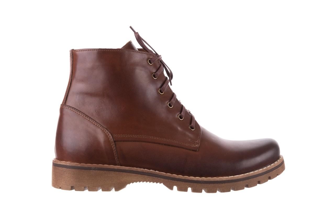 Trzewiki bayla-081 867 brązowe trzewiki, skóra naturalna - trzewiki - buty męskie - mężczyzna 8