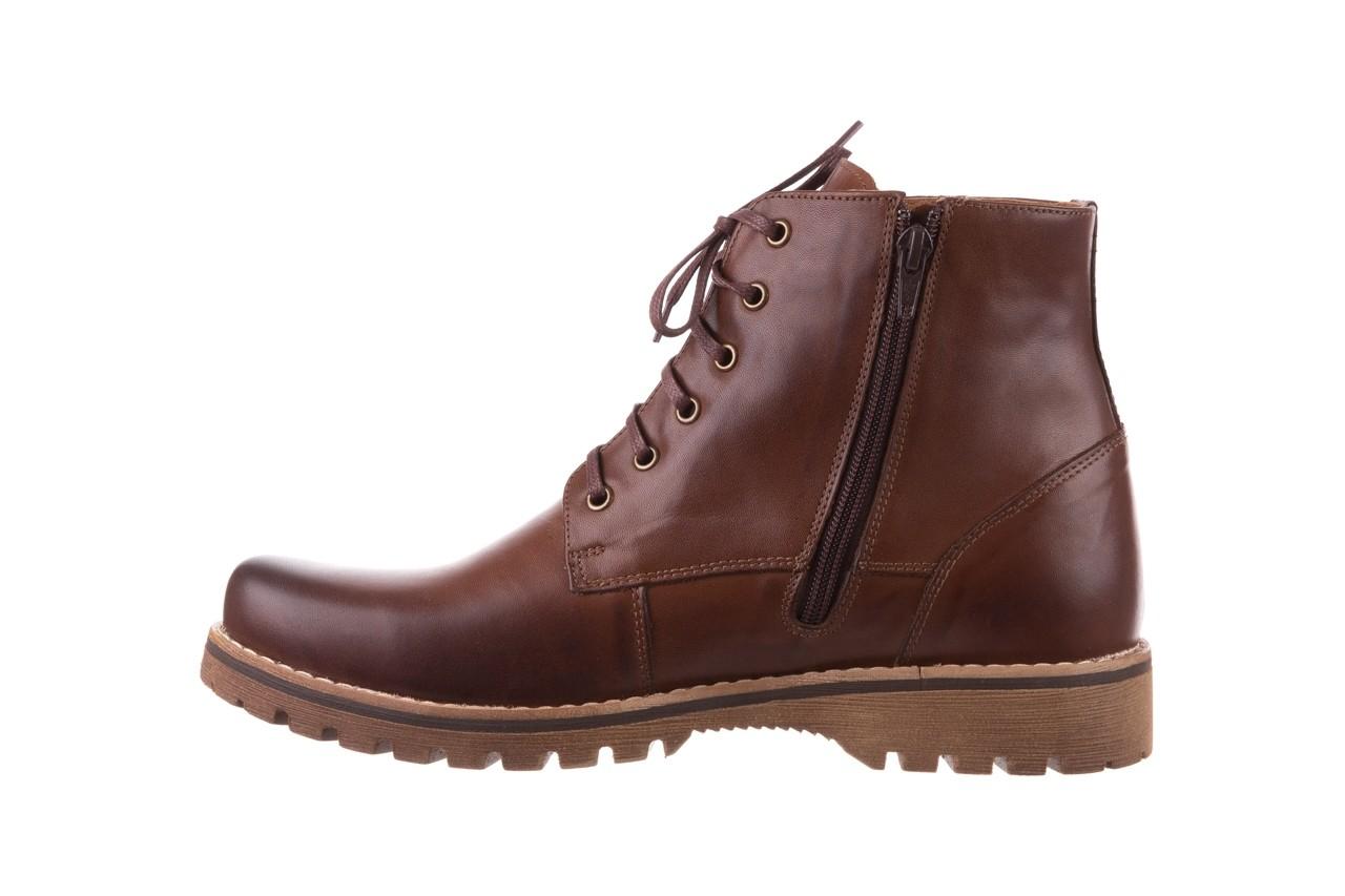 Trzewiki bayla-081 867 brązowe trzewiki, skóra naturalna - trzewiki - buty męskie - mężczyzna 10