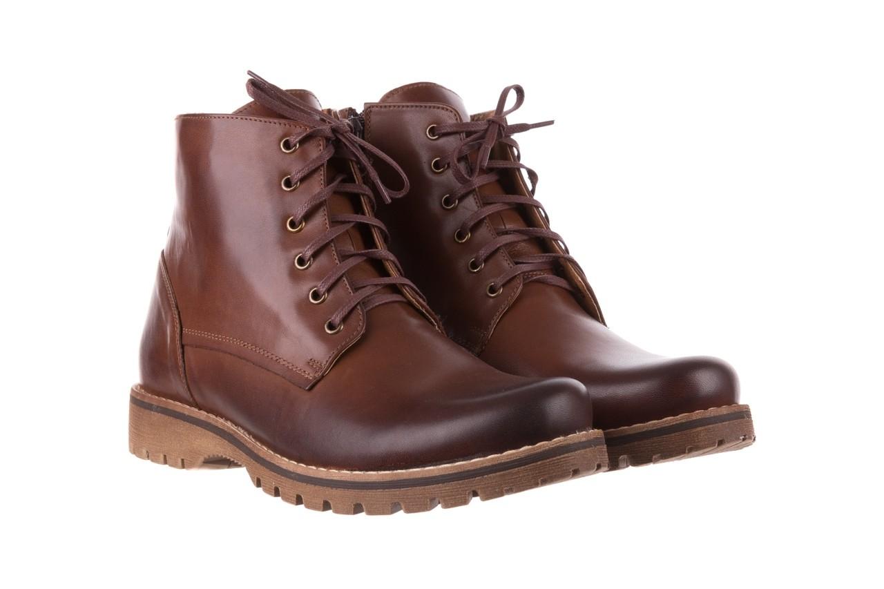 Trzewiki bayla-081 867 brązowe trzewiki, skóra naturalna - trzewiki - buty męskie - mężczyzna 9