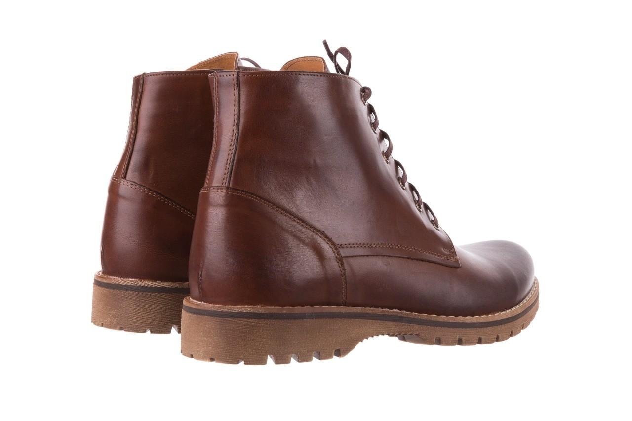Trzewiki bayla-081 867 brązowe trzewiki, skóra naturalna - trzewiki - buty męskie - mężczyzna 11