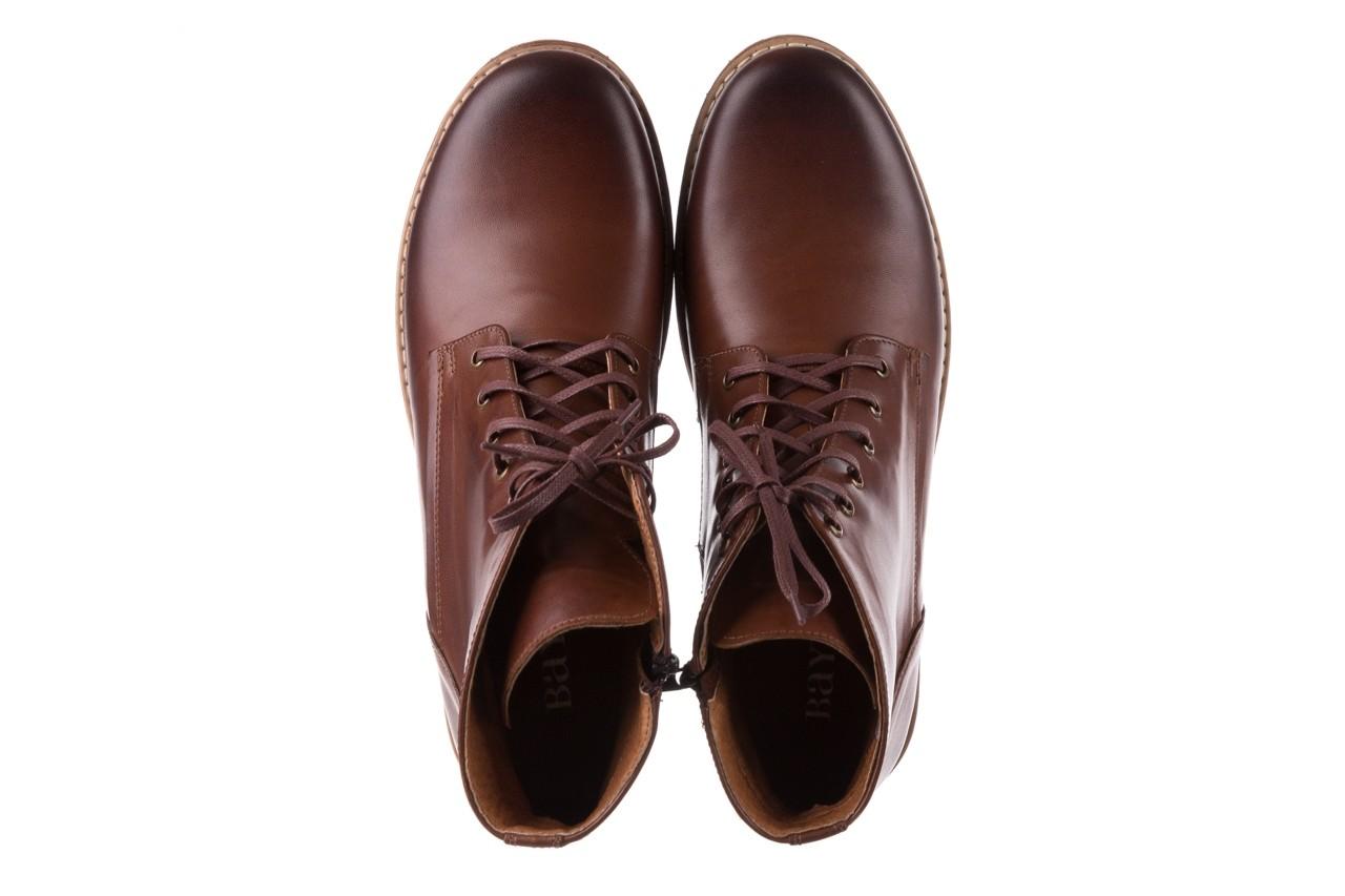 Trzewiki bayla-081 867 brązowe trzewiki, skóra naturalna - trzewiki - buty męskie - mężczyzna 12