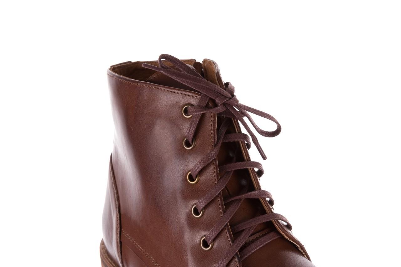 Trzewiki bayla-081 867 brązowe trzewiki, skóra naturalna - trzewiki - buty męskie - mężczyzna 13
