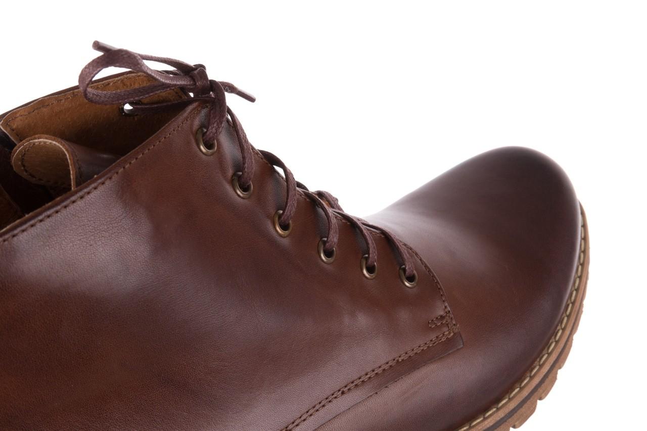 Trzewiki bayla-081 867 brązowe trzewiki, skóra naturalna - trzewiki - buty męskie - mężczyzna 14