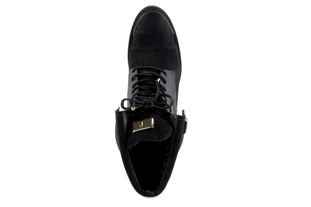 Botki bayla-car 110525 black black, czarny, skóra naturalna - bayla - nasze marki 6