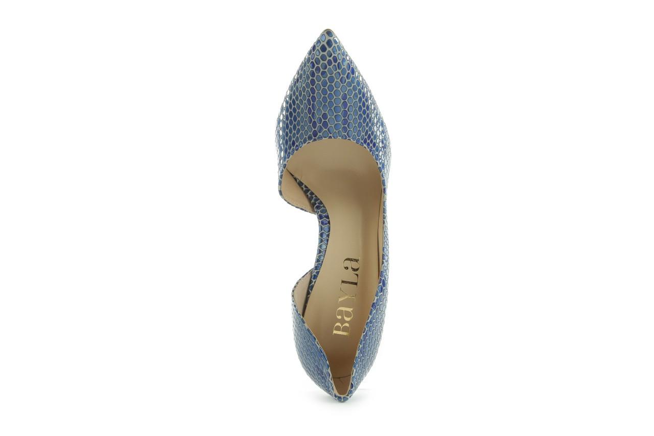 Czółenka bayla-em o6387-766 niebieski, skóra naturalna - bayla - nasze marki 10