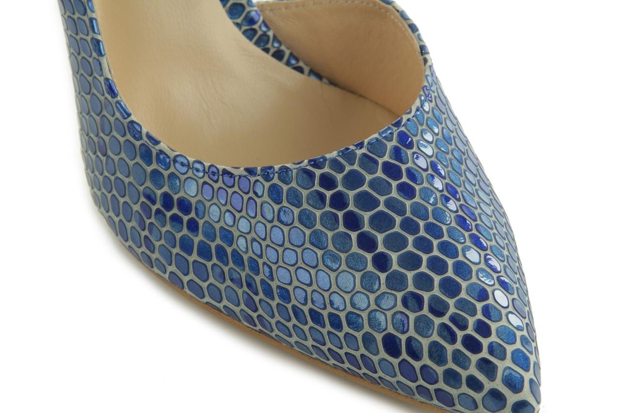 Czółenka bayla-em o6387-766 niebieski, skóra naturalna - bayla - nasze marki 11