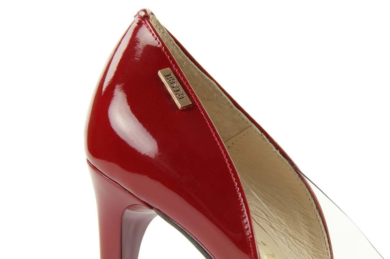 Czółenka bayla-em ofl6713-221 czerwony, skóra naturalna - bayla - nasze marki 9