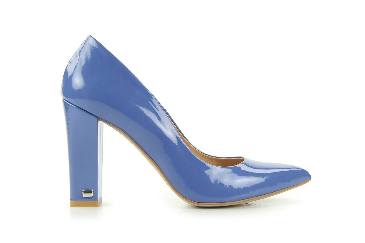 Czółenka bayla-fe 14101 perłowy niebieski, skóra naturalna - bayla - nasze marki 5