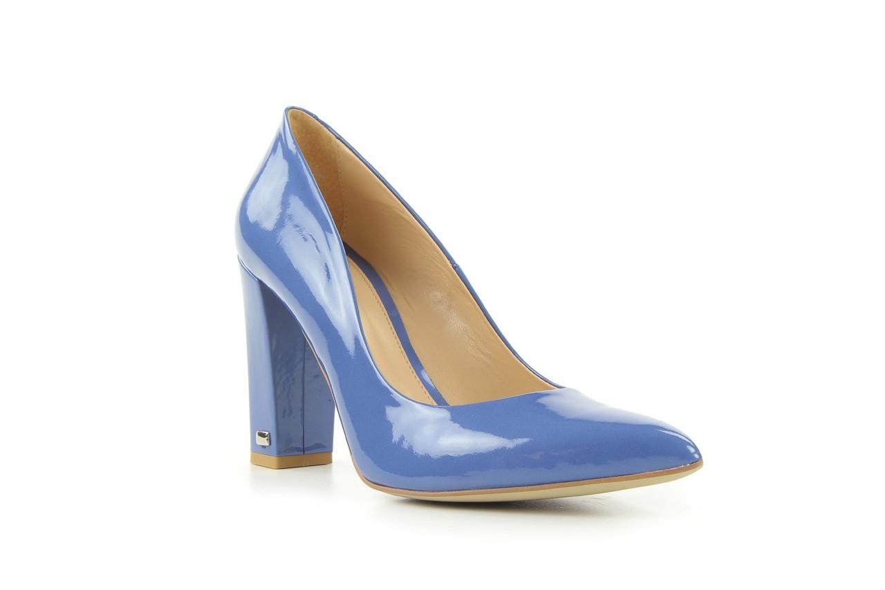 Czółenka bayla-fe 14101 perłowy niebieski, skóra naturalna - bayla - nasze marki 6