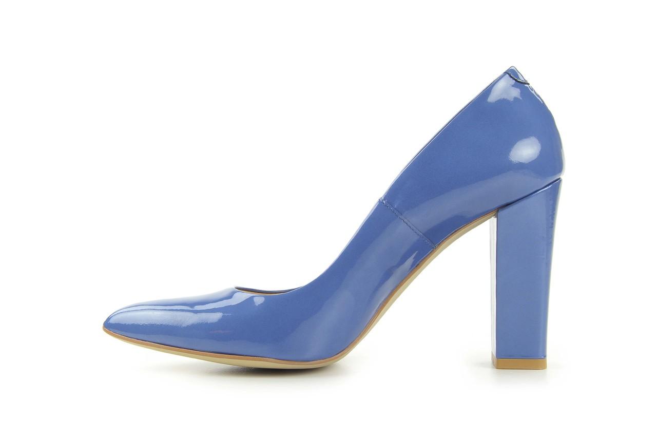 Czółenka bayla-fe 14101 perłowy niebieski, skóra naturalna - bayla - nasze marki 7