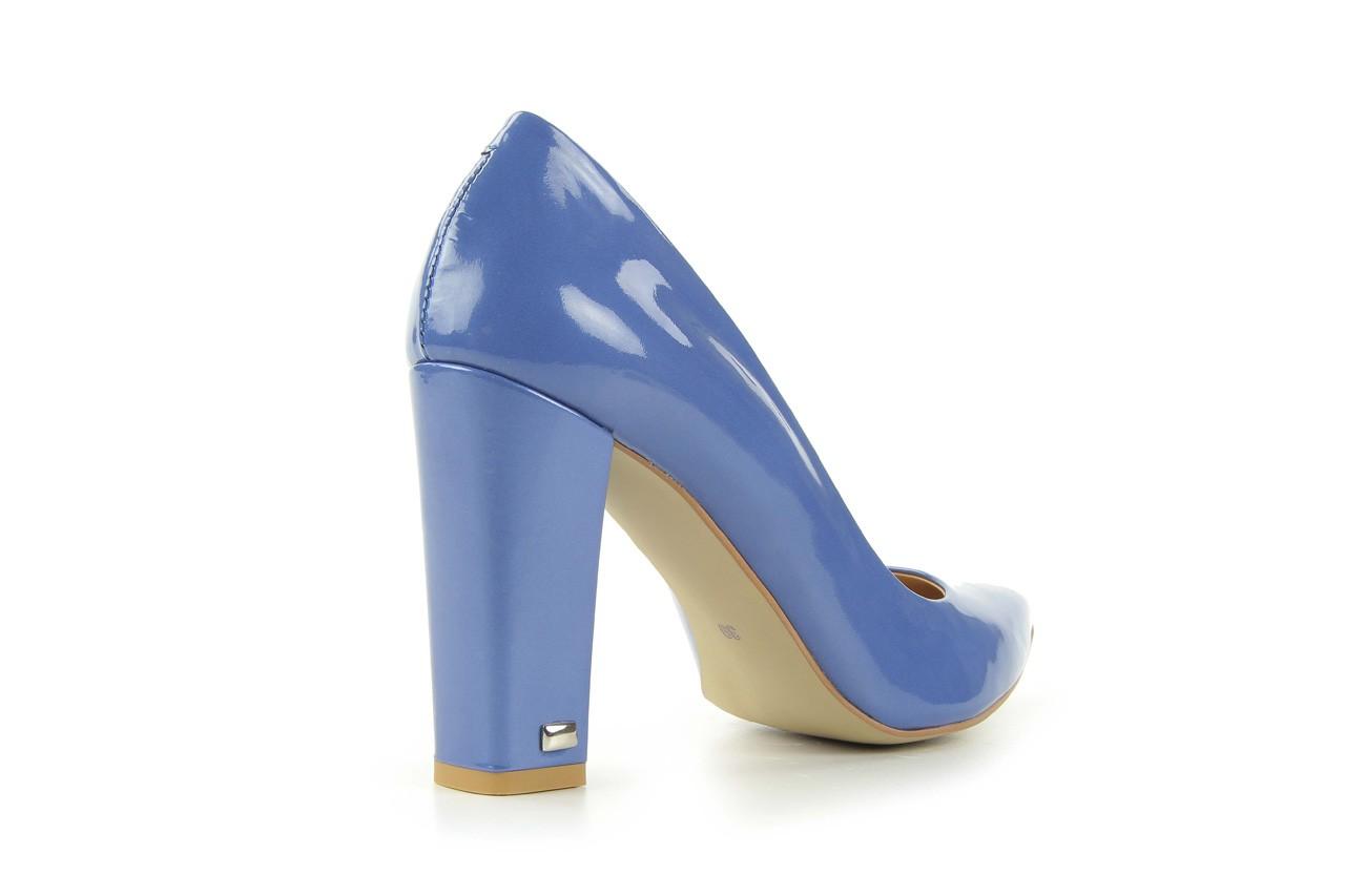 Czółenka bayla-fe 14101 perłowy niebieski, skóra naturalna - bayla - nasze marki 9