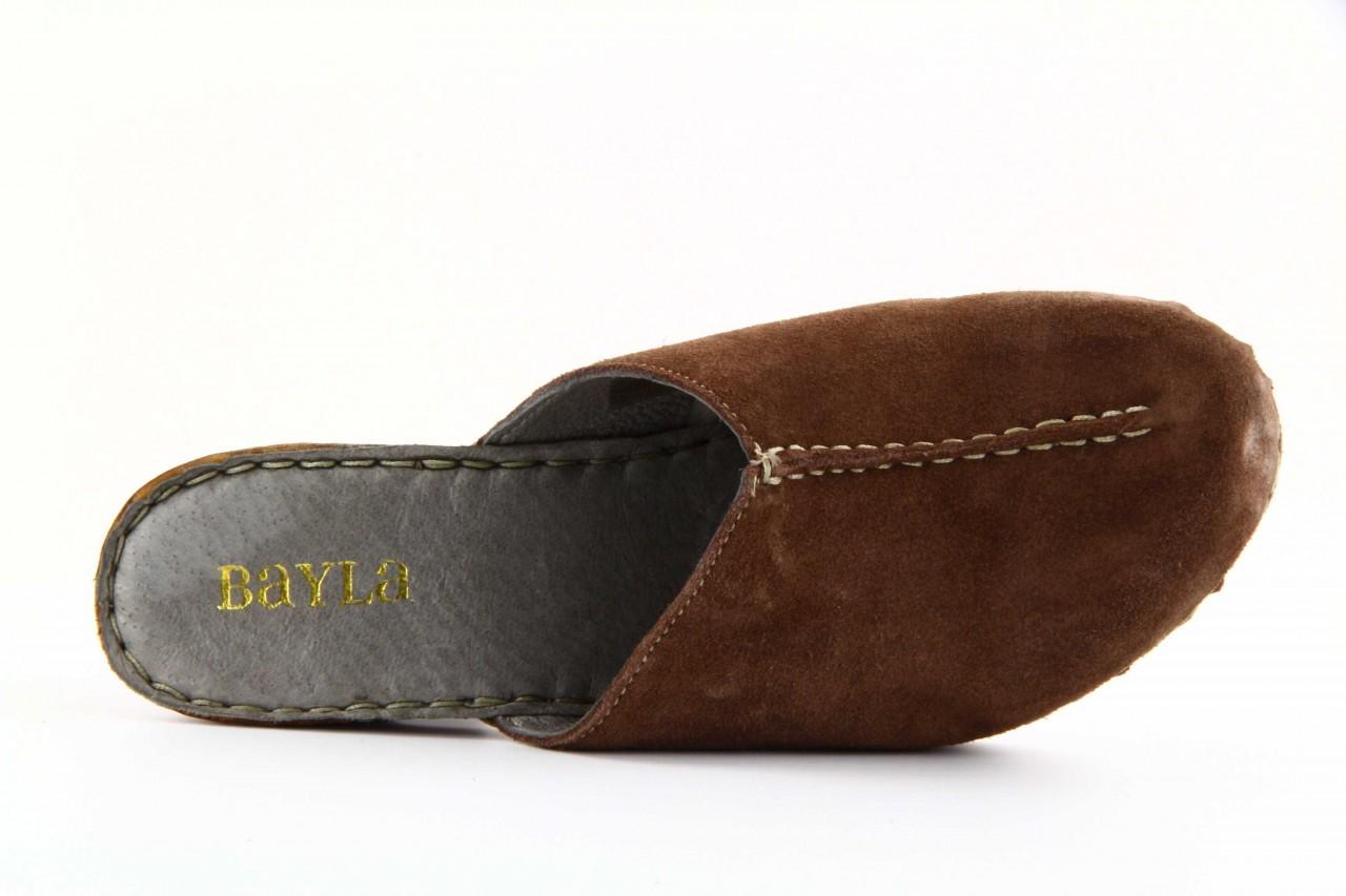Bayla-lup 8100251 velour acajou  - bayla - nasze marki 9