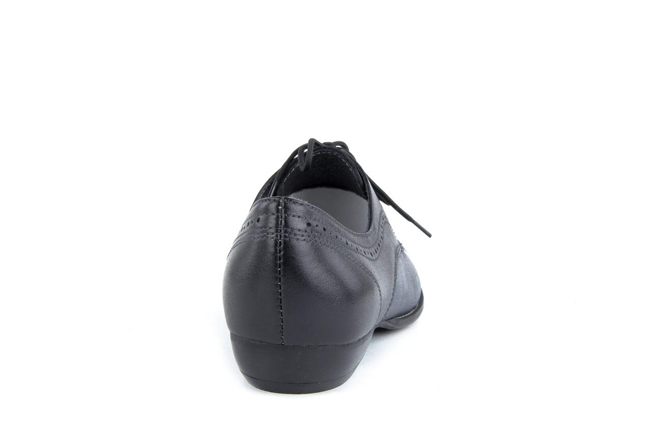 Półbuty bayla-rb r 264 czarny-granat, skóra naturalna  - bayla - nasze marki 7