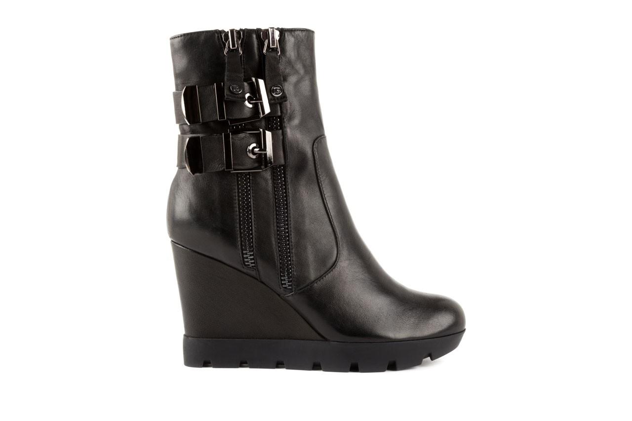 Botki bayla-106 4212001 black, czarny, skóra naturalna - biker - botki - buty damskie - kobieta 6