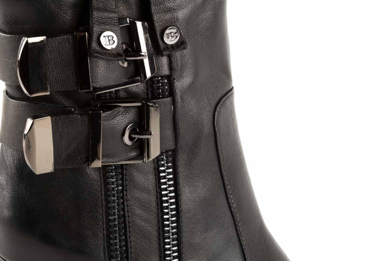 Botki bayla-106 4212001 black, czarny, skóra naturalna - biker - botki - buty damskie - kobieta 11