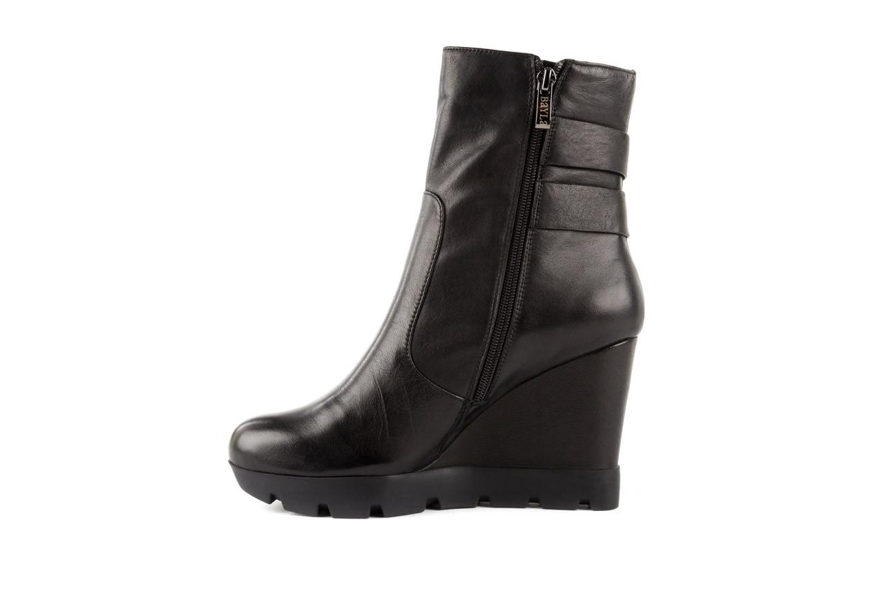 Botki bayla-106 4212001 black, czarny, skóra naturalna - biker - botki - buty damskie - kobieta 8