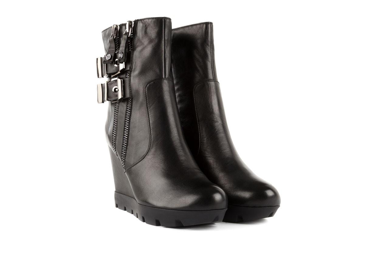Botki bayla-106 4212001 black, czarny, skóra naturalna - biker - botki - buty damskie - kobieta 7
