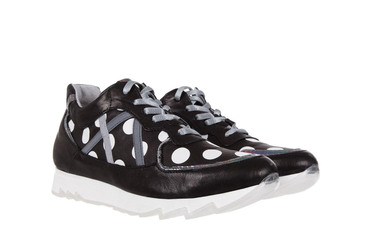 Sneakersy bayla-131 8407 nero, czarny, skóra naturalna  - bayla - nasze marki 7