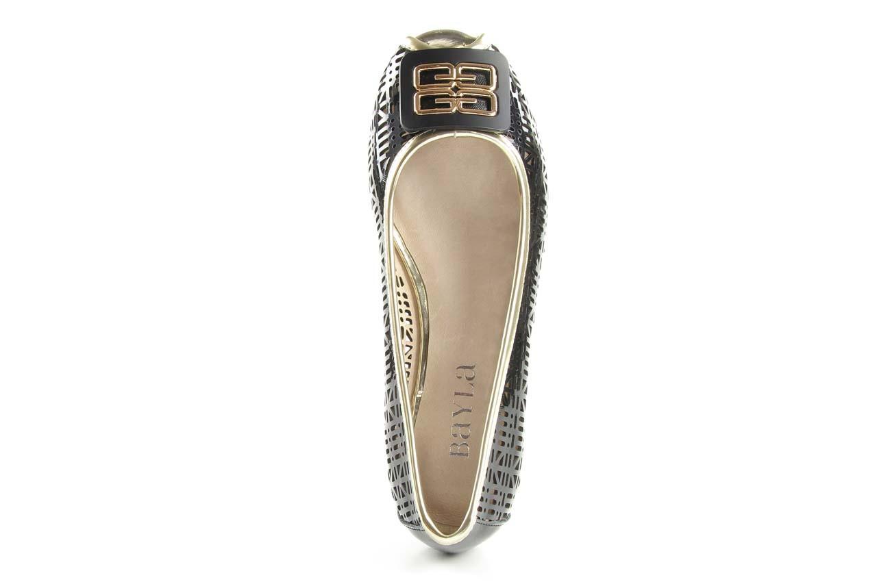 Bayla 07221-x1 black patent leather - bayla - nasze marki 8