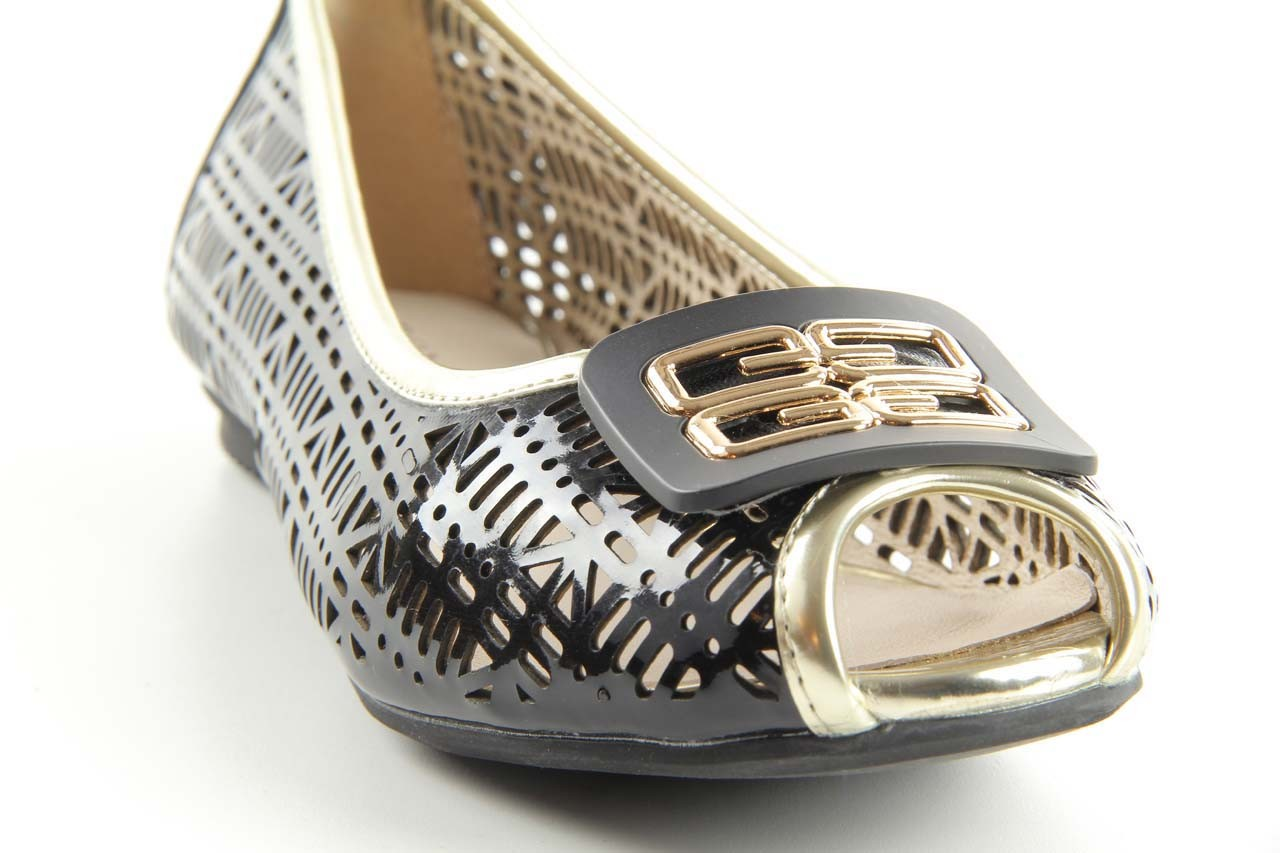 Bayla 07221-x1 black patent leather - bayla - nasze marki 9