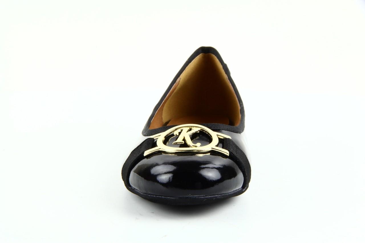 Baleriny bayla 1063-191 black black, czarny, skóra naturalna lakierowana - bayla - nasze marki 10