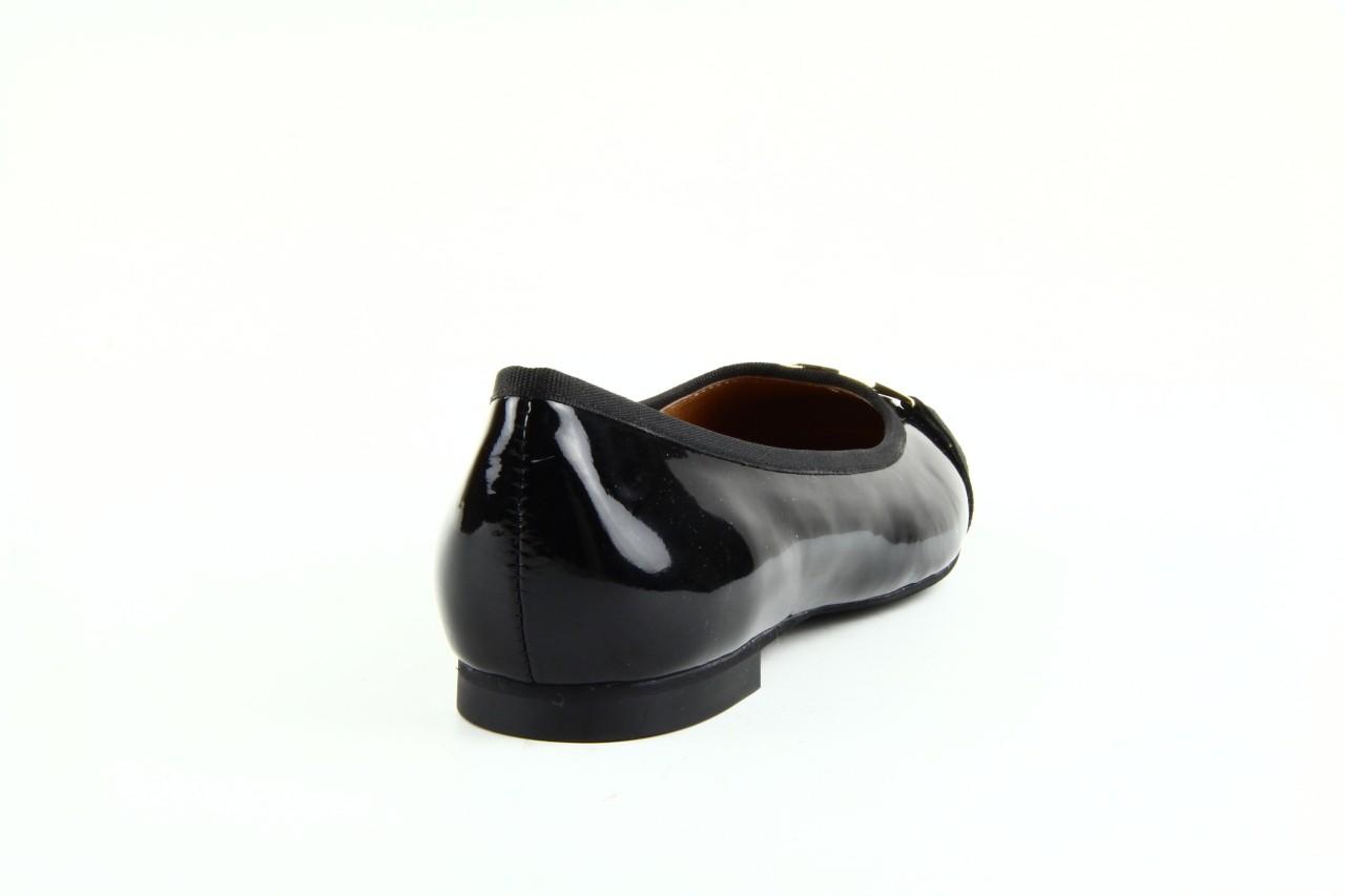 Baleriny bayla 1063-191 black black, czarny, skóra naturalna lakierowana - bayla - nasze marki 7