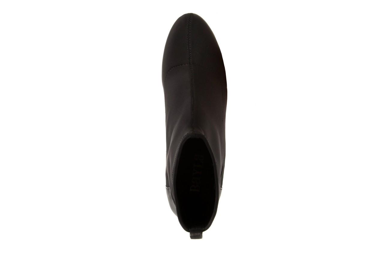 Botki bayla-106 321001 black, czarny, materiał - bayla - nasze marki 10