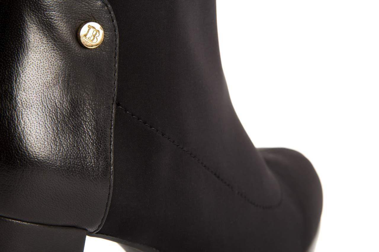 Botki bayla-106 321001 black, czarny, materiał - bayla - nasze marki 11