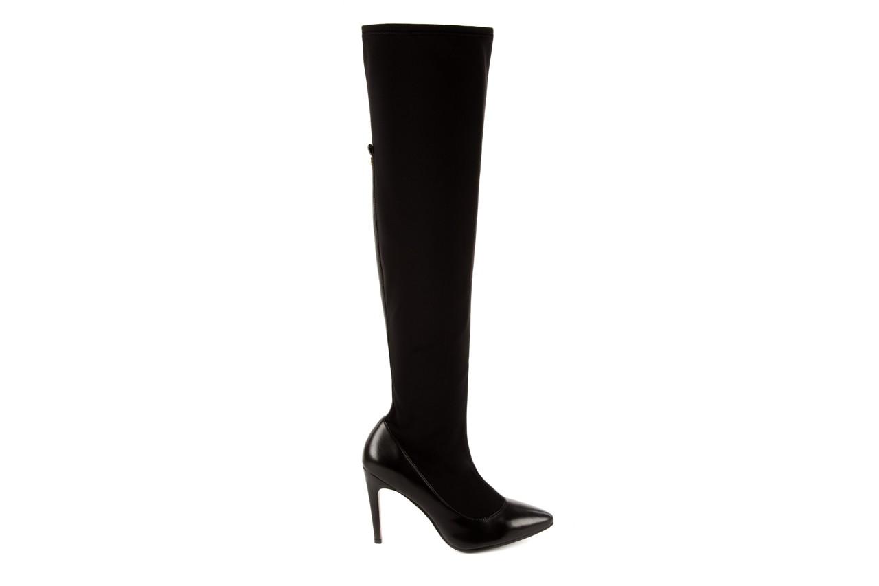 Kozaki bayla-106 4222008 czarne, skóra naturalna - z elastyczną cholewką / stretch - kozaki - buty damskie - kobieta 5