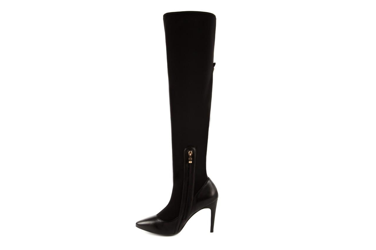 Kozaki bayla-106 4222008 czarne, skóra naturalna - z elastyczną cholewką / stretch - kozaki - buty damskie - kobieta 7