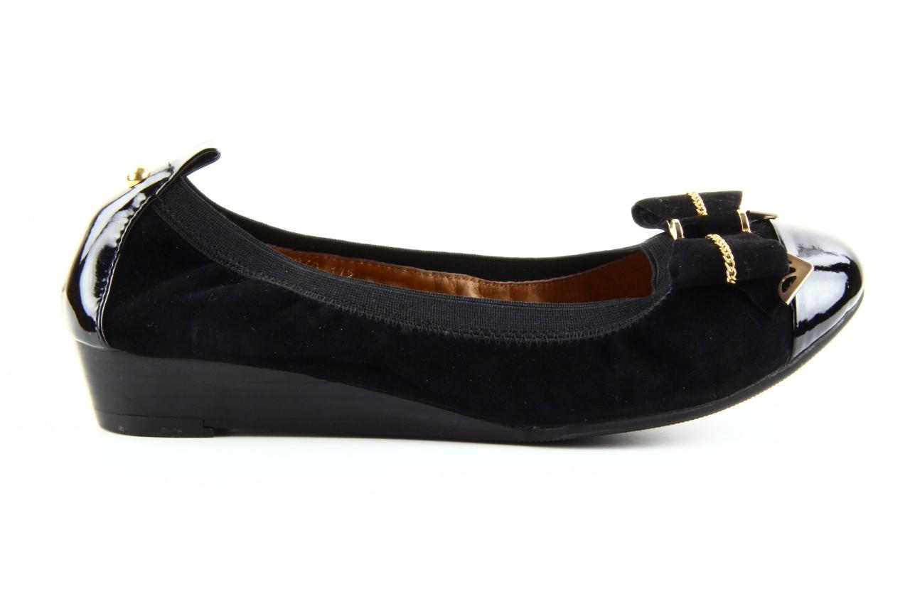 Baleriny bayla 1070-115 black black, czarny, skóra naturalna  - bayla - nasze marki 10