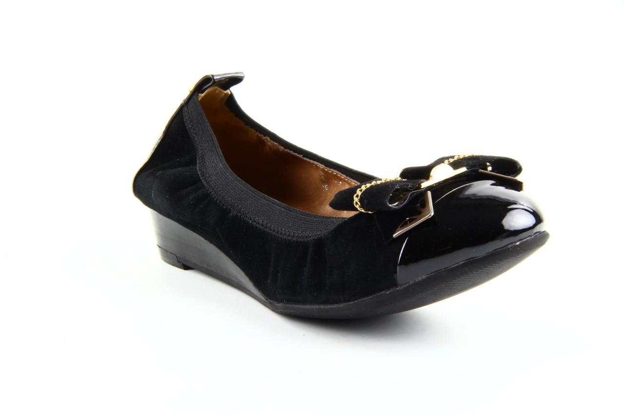 Baleriny bayla 1070-115 black black, czarny, skóra naturalna  - bayla - nasze marki 7