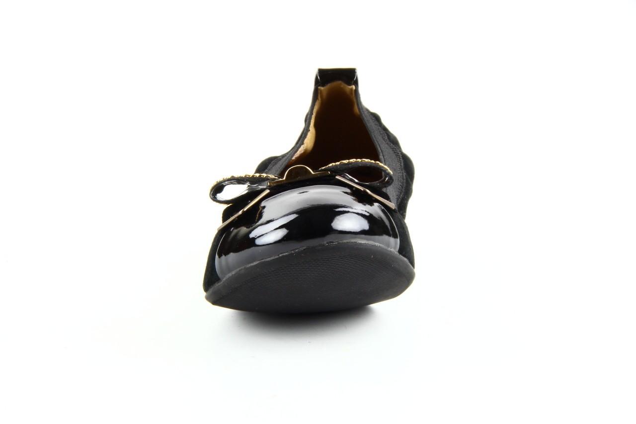 Baleriny bayla 1070-115 black black, czarny, skóra naturalna  - bayla - nasze marki 6