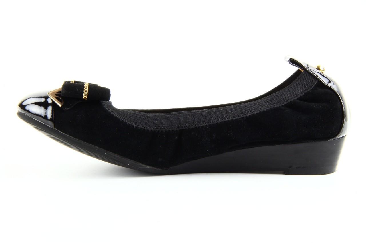 Baleriny bayla 1070-115 black black, czarny, skóra naturalna  - bayla - nasze marki 8
