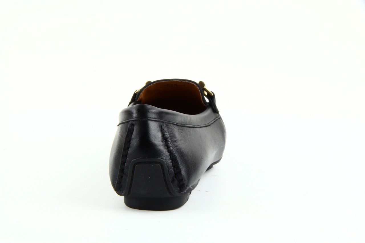 Mokasyny bayla 1535-3 black, czarny, skóra naturalna - bayla - nasze marki 6