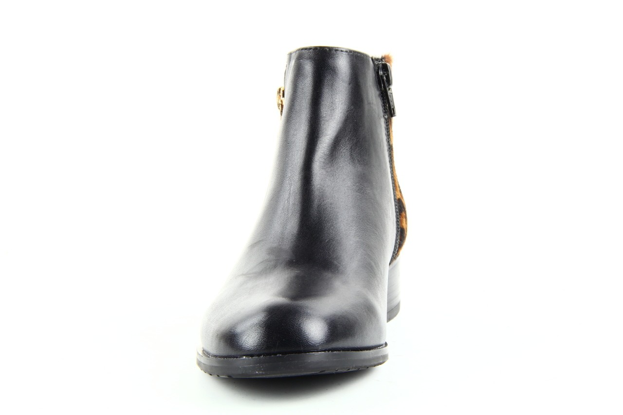 Botki bayla 1555h-5 black brown, czarny, skóra naturalna  - bayla - nasze marki 8
