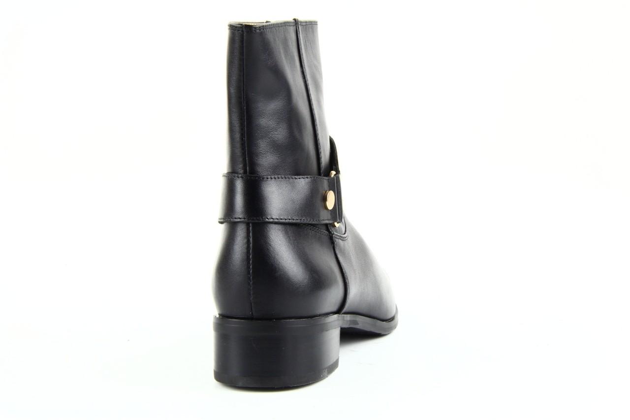 Botki bayla 1555h-8 black, czarny, skóra naturalna  - bayla - nasze marki 9