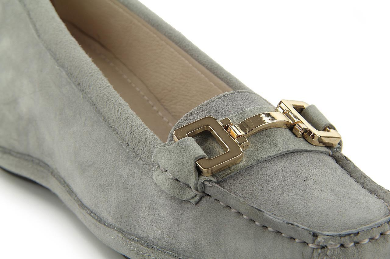 Bayla fl158-35 light grey kid suede - bayla - nasze marki 9